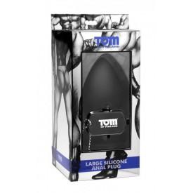 Анальная пробка Tom of Finland Large Silicone Anal Plug - 11,5 см.
